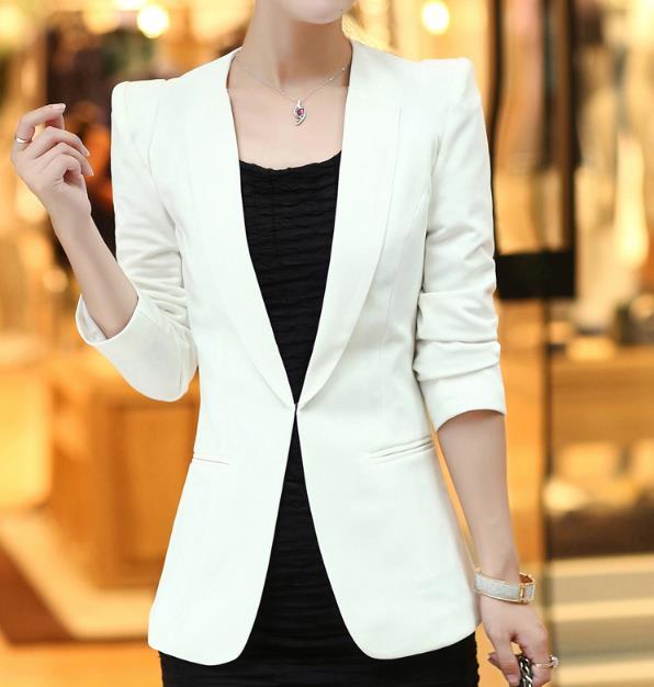 Plus Size 5XL!Ladies Blazers Work Office Wear Long Sleeve Small Suit Cardigan FORMAL Blazer Jackets Women