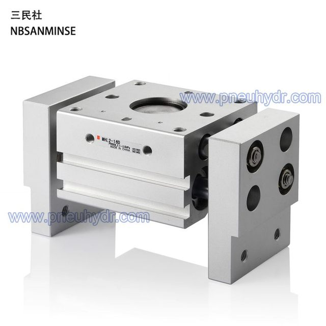 3209b438 MHL2 20-D Parallel Style Air Gripper : Wide Type SMC MHL Long Stroke Air  Gripper Wide Type Series SANMINSE Sanmin