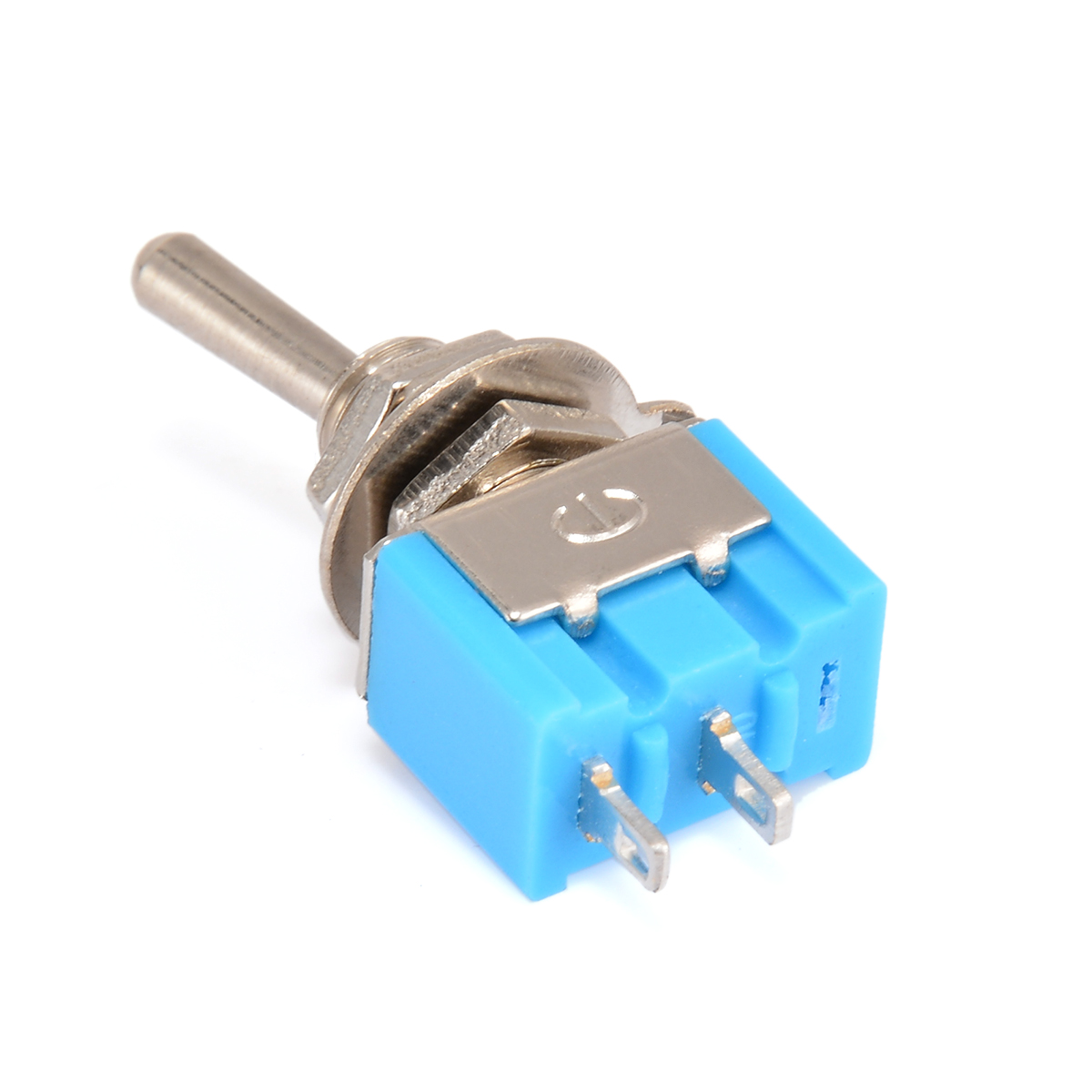 10pcs MTS-101 2 Pin SPST Switch ON-OFF 2 Positions <font><b>6A</b></font> <font><b>250V</b></font> AC Durable Mini Electrical Toggle Switches 33*13*8mm Mayitr image
