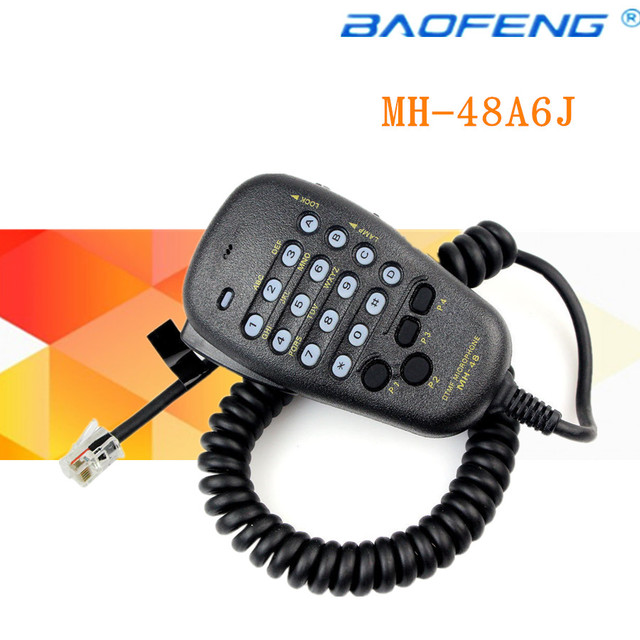 US $10 45 |Aliexpress com : Buy Brand New Car Radio MH 48A6J DTMF Mic  Microphone For Yaesu FT 8800R FT 8900R Speaker with free shipping from  Reliable