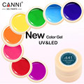 New Arrival 5 ml Bottle High Profit Product 141 Colors Canni Color Gel Fast Dry Nail Paint Gel UV Gel