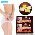 10 Pcs Sumifun Thinness Slimming Patch Weight Loss Anti-Cellulite Massage Fat Burning  Medicated Plasters Beauty C010