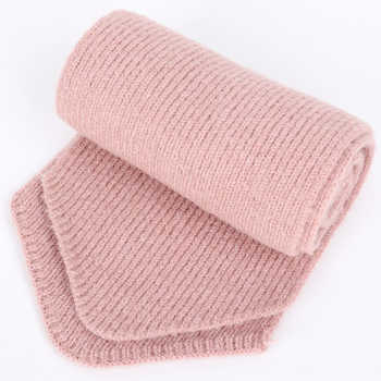 Winter new solid knitted children\'s cotton hats Scarf, Hat & Glove Sets boy and girl raccoon fur pom-poms warm and ski caps