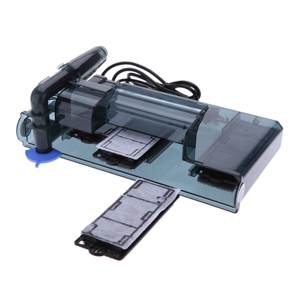 Aquarium fish tank external filter ef 1 1000l h - 2 5w 3w 3 5w Aquarium External Filter For Fish Turtle Tank Waterfall Wall
