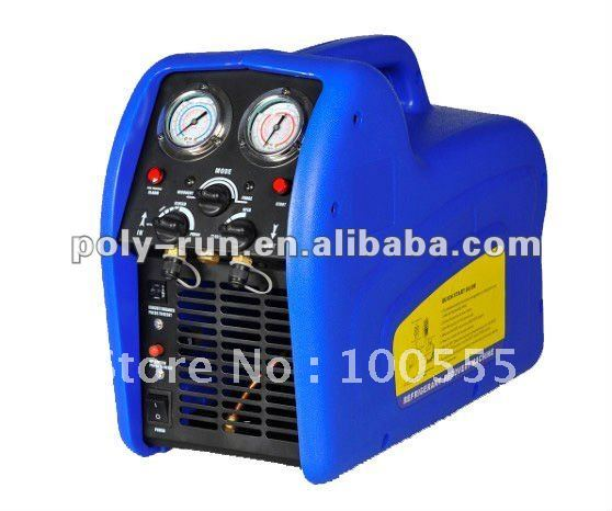 portable auto refrigerant recovery recycling machine unit with oil less compressor reco250s in. Black Bedroom Furniture Sets. Home Design Ideas