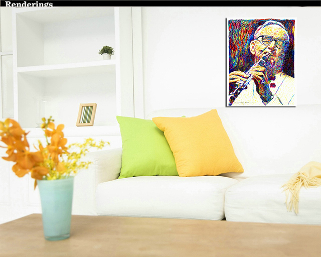 home decor canvas schilderijen modern face huge canvas oil painting ...