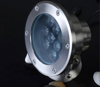 9w Led Underwater Light Waterproof Led Underter Light For Swimming Pool Warranty 2 Years SMUD 09