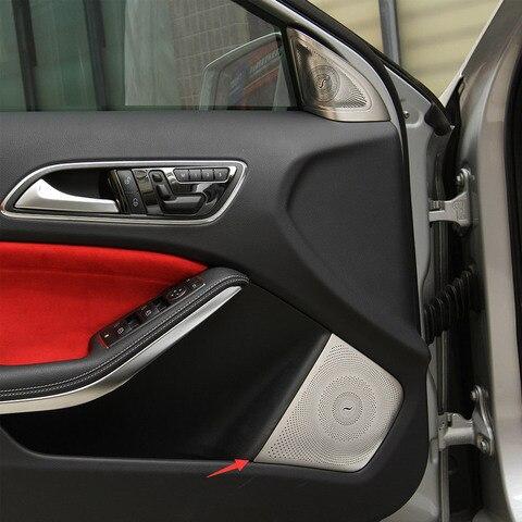 para mercedes benz gla x156 cla amg c117 car styling interior guarnicao da porta de