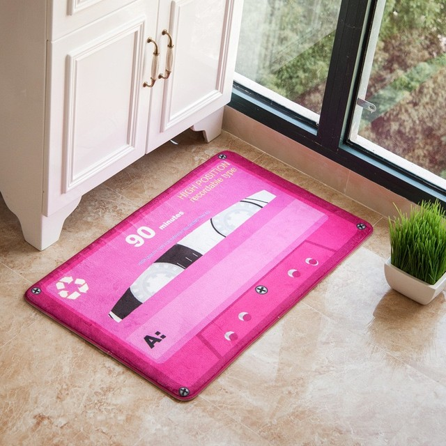 Carpet Multiple Colour Floor Carpets Rugs Bedroom Bathroom Childrens Computer Chair Living Room 3D Mats Kitchen