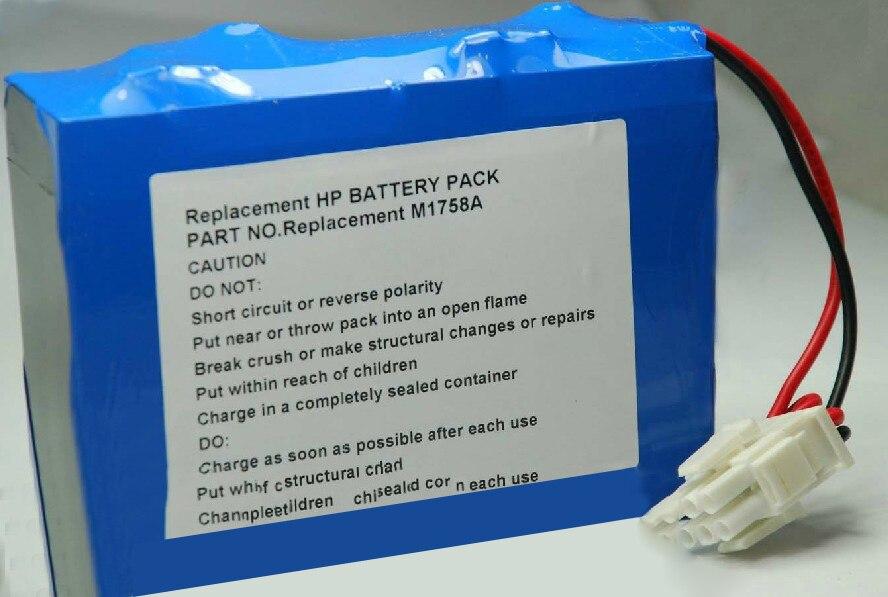 New Battery For Defibrillators MEDICAL CODEMASTER XL M1758A M1722A/B, M1723A/B, M1724XE 4500mah 12V