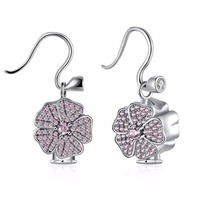 2017 Real HOT Clover 925 Sterling Silver Wholesale Charm Women Fashion Jewelry Jewelry Fit Pandora Woman