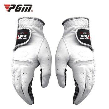 Guantes de Golf para hombre, guantes de Golf transpirables para mano izquierda y derecha con gránulos antideslizantes