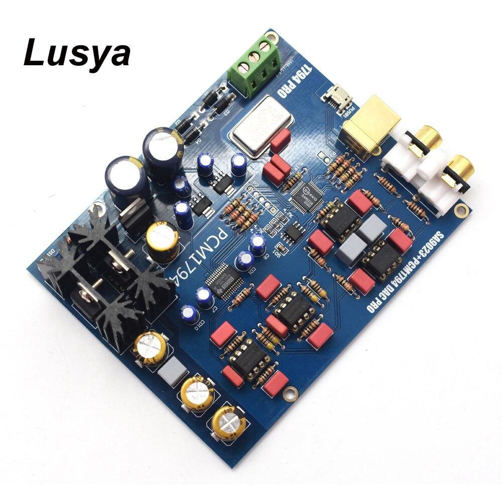 Carte de décodeur SA9023 + PCM1794 DAC carte son USB DAC carte son 5 V bricolage/carte finie B8-004