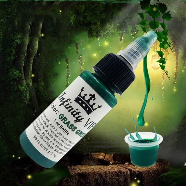 Pigmento de tinta de tatuaje de planta Natural para ceja semipermanente delineador de ojos labios arte de cuerpo pintura maquillaje tatuaje suministros herramientas 30 ml TSLM2