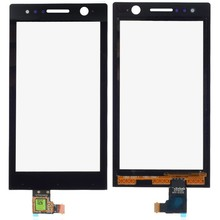 Wholesale 10pcs lot Free shipping New Origianl Replacement Touch Screen Digitizer Glass Panel For Sony Xperia