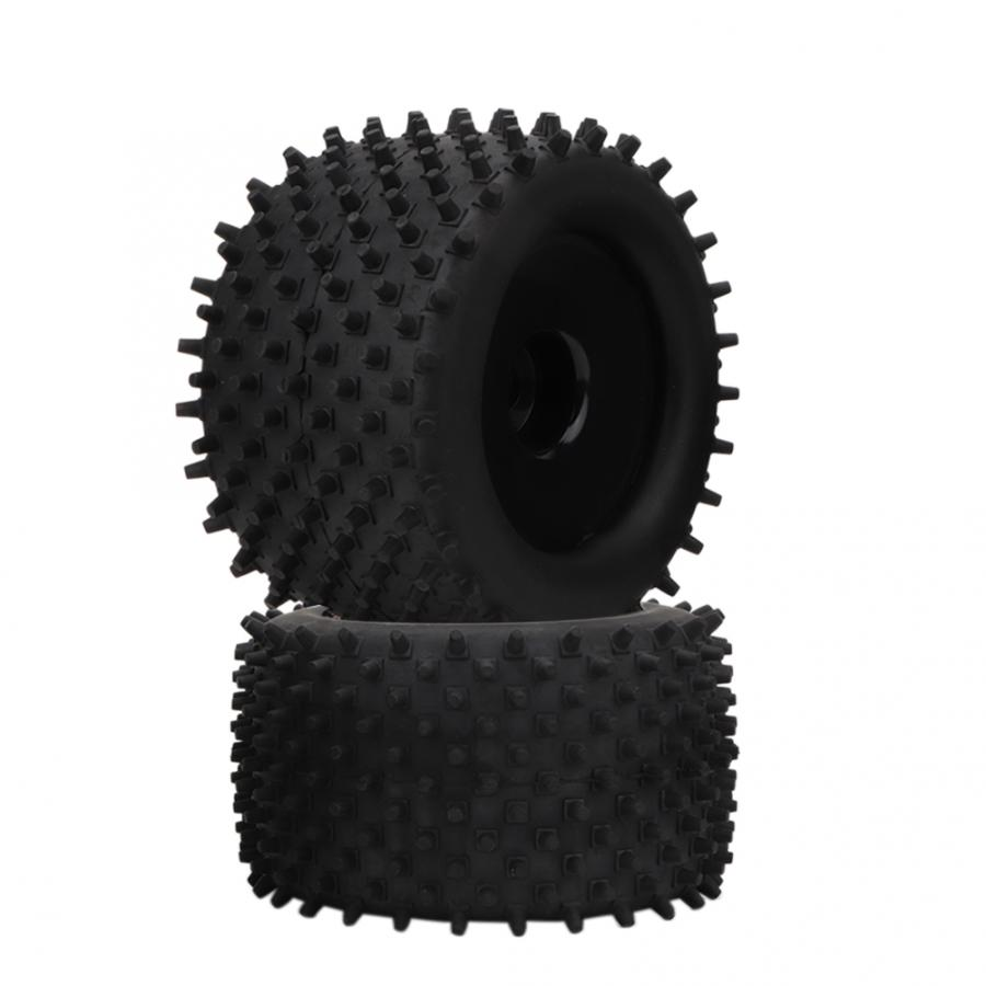 Suchinm RC Wheel Tire 155mm Rubber Tire 82mm Hub Wheel Upgrade Parts for Truck 1//8 RC Racing Car Replacement Accessories