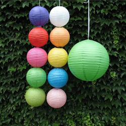 6 8 10 multicolor chinese traditional wedding festival lantern round paper lantern party hanging decoration lampion.jpg 250x250