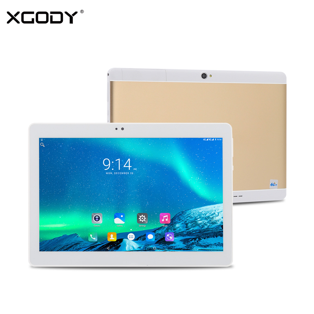 XGODY S107 10 1 Inch 4G LTE Tablet Android 6 0 MTK Quad Core 2G RAM