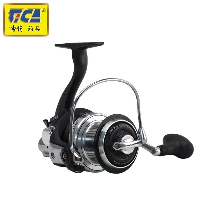 Rapport de vitesse TICA 7BB + 1RB 5.2: 1 moulinet de pêche en rotation petite roue distante avec poignée échangeable - 3