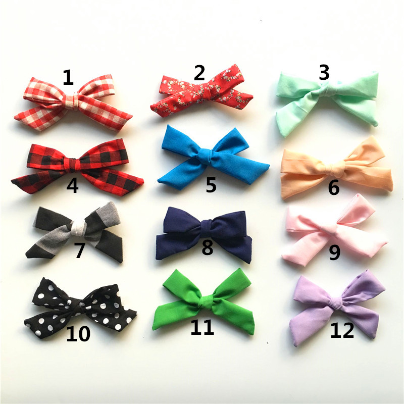 5pcs/lot Handmade DIY Boutique 4inch big Fabric Bow without clips For  Kids  Cute Hair Accessories Headwear handmade new solid maple wood brown acoustic violin violino 4 4 electric violin case bow included