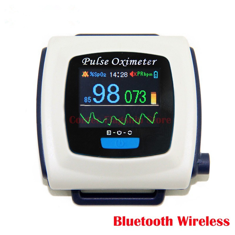 medical Diagnostic-tool Wearable 24H SPO2 PR Monitor Wireless Bluetooth Pulse Oximeter AH-50FW CE FDA With monitor Spo2 PR buy monitor calibration tool