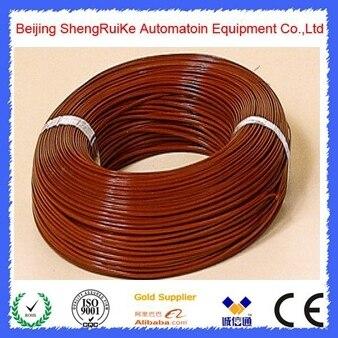 T Type Teflon Thermocouple Temperature Measurement Cable 2*0.3mm Thermocouple Wire