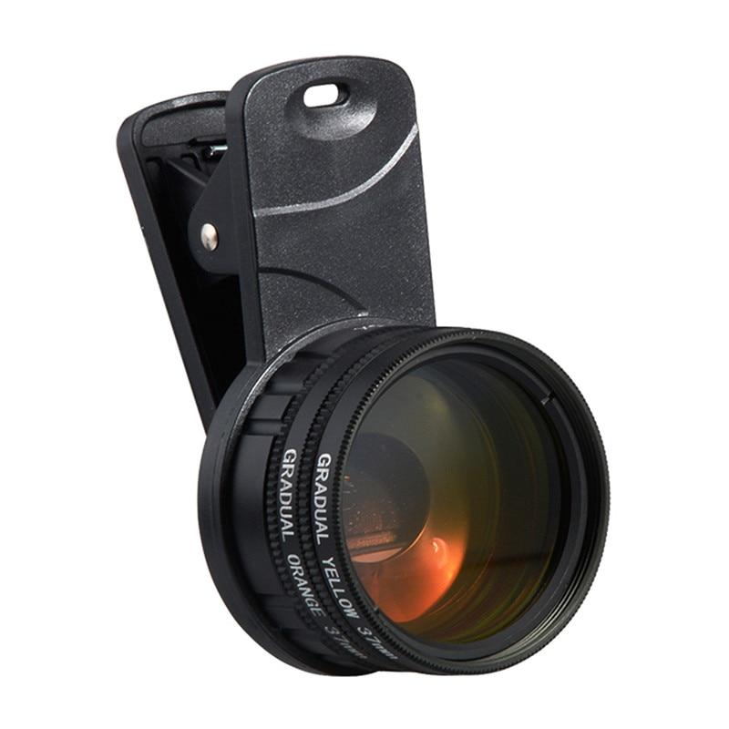 1 Set Aquarium Fish Tank Coral Reef Téléphone Caméra filtres + 1 Macro Poissons Aquatiques Terrarium Accessoires fournitures