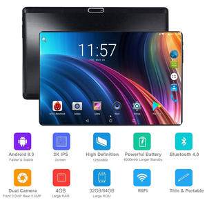 Cell-Phone-Tablet 4GB Android Octa-Core 10inch 10-Gifts LTE Wifi FDD Glass-Screen