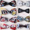 2016 Geometric Design Wooden Bow tie European Man Accessory Laser Cutout Wood Hip Hop Bow Tie