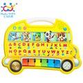Animales de Granja Juguetes Educativos de Aprendizaje Temprano del bebé de Sonido Cognitiva Carta Juego de Música de Juguete JUGUETES HUILE 976 Aprendizaje Fairyland