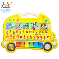 Baby Early Learn English Toys Kids Educational Toy with Piano Keyboard Farm Animals Sound Cognitive Chart Music Games Child Toy