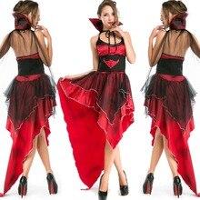 2017 Calidad Japón anime cosplay ropa juegos de murciélago vampiro reina bruja de halloween disfraces para las mujeres
