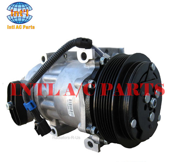 sanden sd7h15 for peterbilt kenworth tractors truck straight truck 3406 ac compressor 98569 f696002122