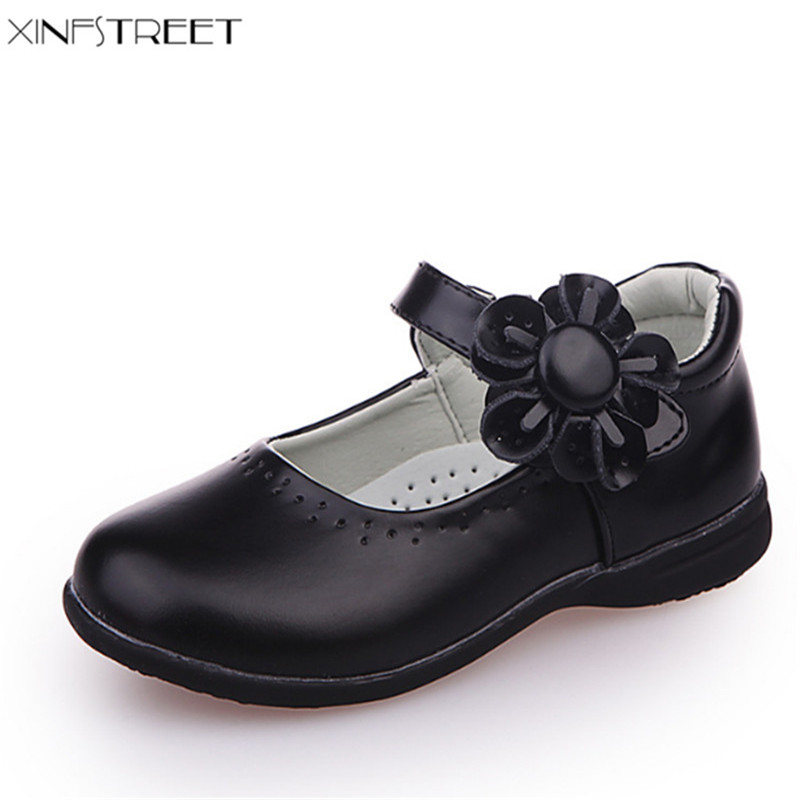 Detail Feedback Questions about Xinfstreet Girls Shoes Leather Flower Nice Children  Princess Shoes Girls Kids School Shoes Size 26 36 on Aliexpress.com ... 42c9eb83a45e