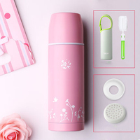 Stainless Steel Vacuum Flask Cup Small Princess Cups Cute Mini Thermos Bottle Kubek Termiczny Pot Taza