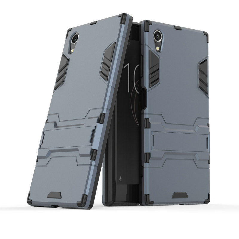 Image 2 - 3D Armor Case for Sony Xperia XA1 Plus Dual G3421 G3423 G3412 for Sony Xperia XZ1 Compact G8441 XA1 XZ1 XZ XZs Phone cover Case-in Half-wrapped Cases from Cellphones & Telecommunications