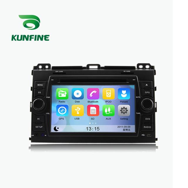WINCE 6.0 MTK MT3360 DVD Do GPS Do Carro Jogador de Navegação Do Carro estéreo para Toyota PRADO Cruiser 120 2003-2009 Rádio 3G Wifi Bluetooth