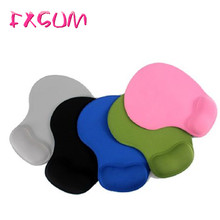 FXSUM New Pure Color Silicone Skid Resistance Memory Foam Soft Comfort Wrist Rest Support Mouse Pad Mice Pad Gaming Mousepad
