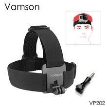 Vamson ремень на голову для Gopro hero 8 7 аксессуары на голову ремень Регулируемый для Gopro hero 7 6 5 4 для SJCAM VP202