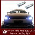 Guang Dian Apto para VW Jetta MK6 LEVOU 2011-2014 DRL Condução Daytime Running Day Fog Lâmpada Luz 1156 ba15s p21w alta potência 7.5 w