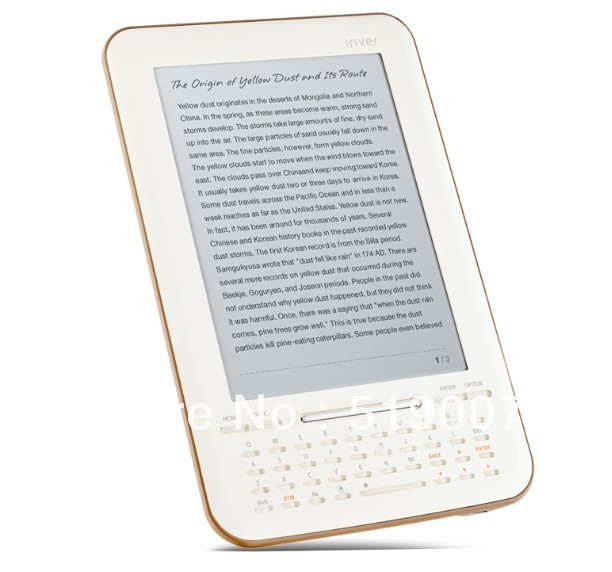 IRIVER E-book STORY HD 100% NEW 6' E- ink screen, 2 GB, ultra-thin/light,Wi-Fi,Google ebooks 100% effectively new