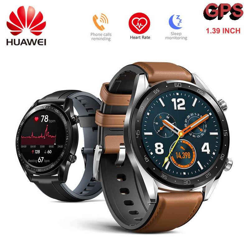 Huawei Watch GT Smart Watch GPS GLONASS NFC 14 Days Battery Life Waterproof AMOLED Screen Outdoor
