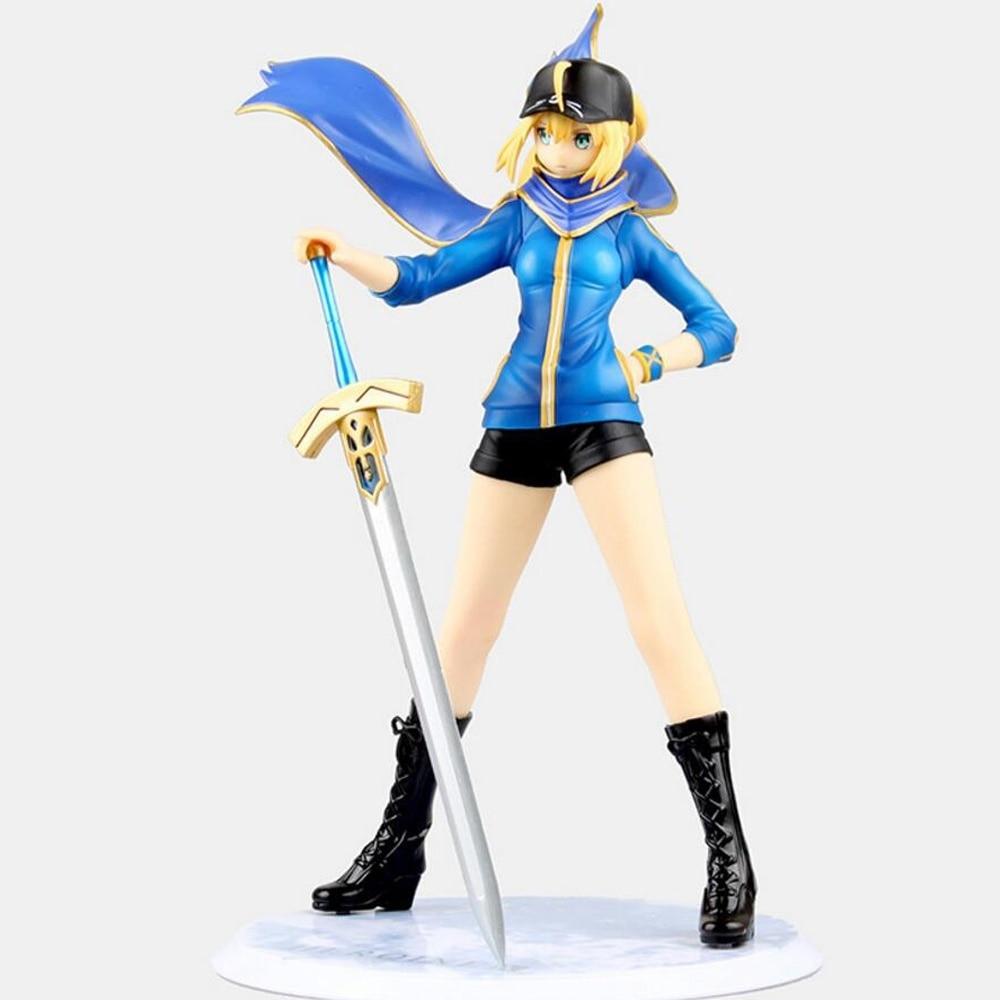 ФОТО Anime Fate Zero Stay Night Figurine Heroinex PVC Action Figure Collectible Toy 22 CM