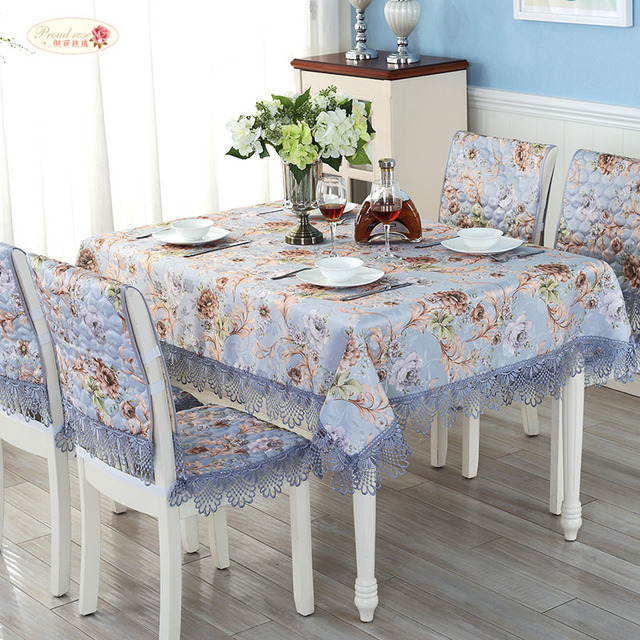c521de94e7c Proud Rose Lace Table Cloth Round Table Cover Wedding Decor Tablecloths  Chair Cover Chair Cushion Cover Cloth