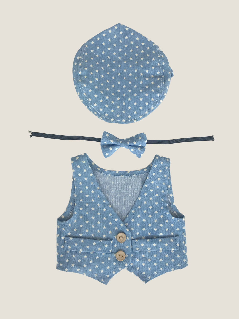 Newborn Children Photography Clothing Baby Boys Girls Children Sets Photo Vest Bow Hat 3pcs Suits Infant Cotton Costume hsp188 cool newborn baby girls boys crochet knit costume photo photography prop outfits cute baby clothes sets