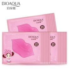 10pcs Collagen Crystal lip mask lips plump gel personal care hydrating lip whitening a smacker wrinkle gel patch