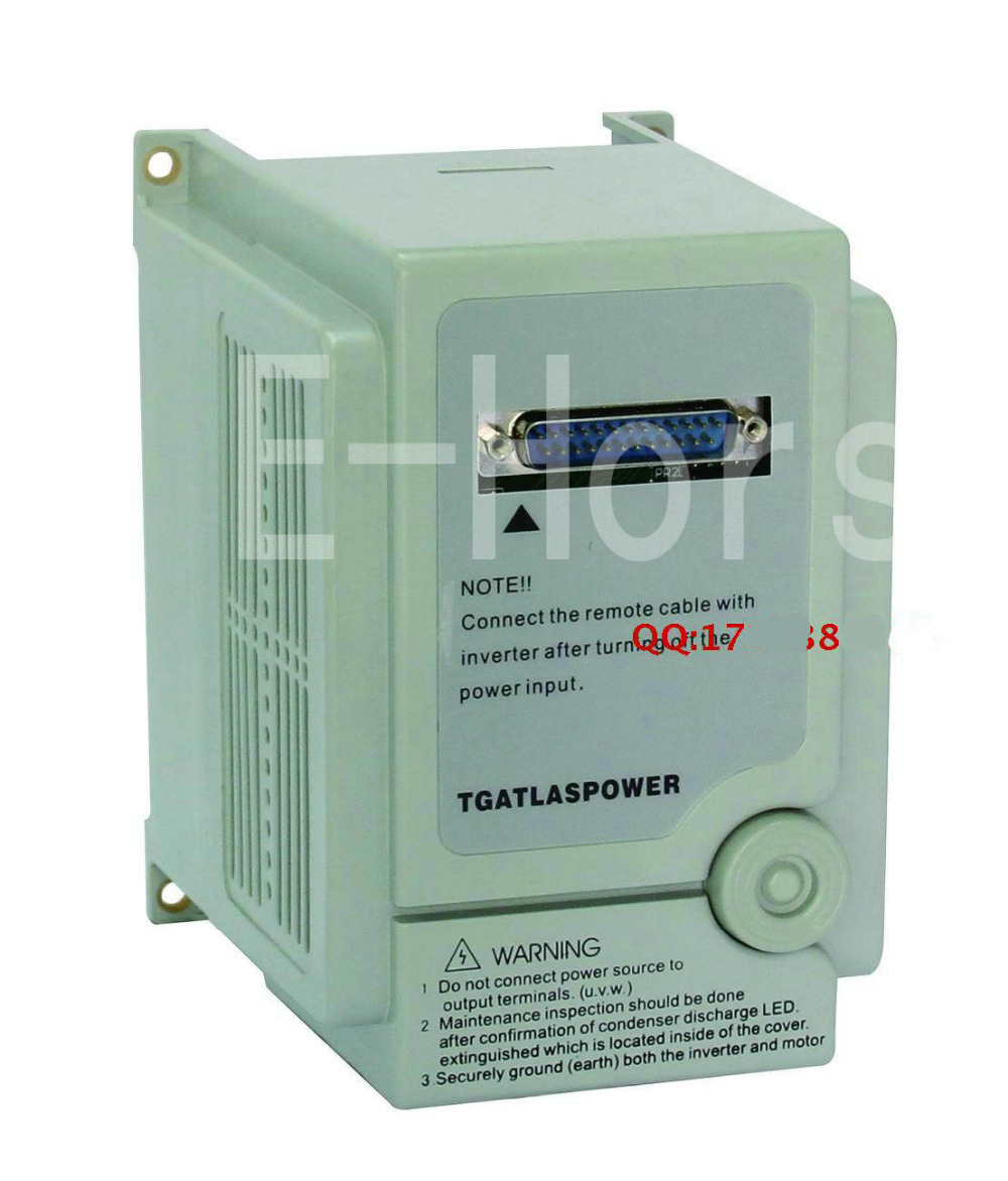 TGATL ASPOWER VFD Inverter 220v 2.2KW AS2 122R Drive 380v motor ...