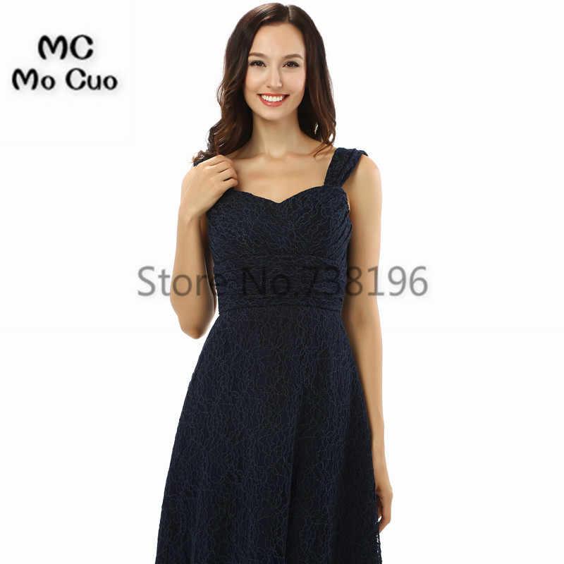 8d10ff61c0e88 2017 Cheap Dark Blue Lace Homecoming dress cheap 8th grade prom dresses  A-Line cocktail party dress Tulle cheap Graduation Girls