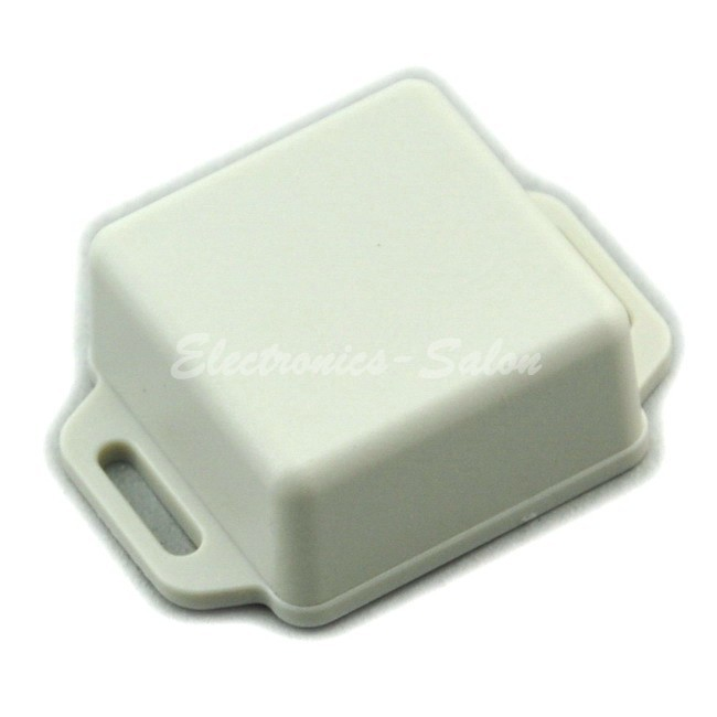 Small Wall-mounting Plastic Enclosure Box Case, White,41x41x20mm, HIGH QUALITY.