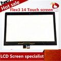 Envío libre al por mayor de alta calidad de 14.0 pulgadas táctil de cristal digitalizador de pantalla para lenovo flex 3 14 digitalizador para lenovo yoga 500